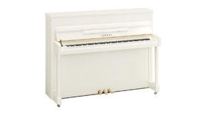 ヤマハインテリアピアノb113PWH