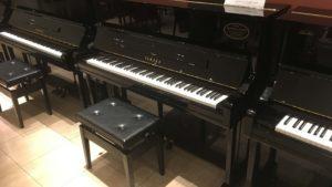【売約済み】ヤマハリニューアルピアノYU11SDサイレント付