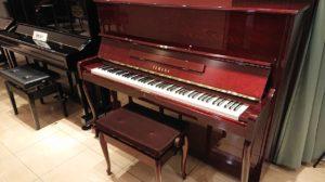 【売約済み】ヤマハリニューアルピアノW110BB